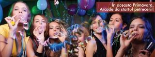 In aceasta primavara, Arcade da startul petrecerii!